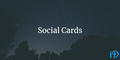 featured image thumbnail for post Social Cards